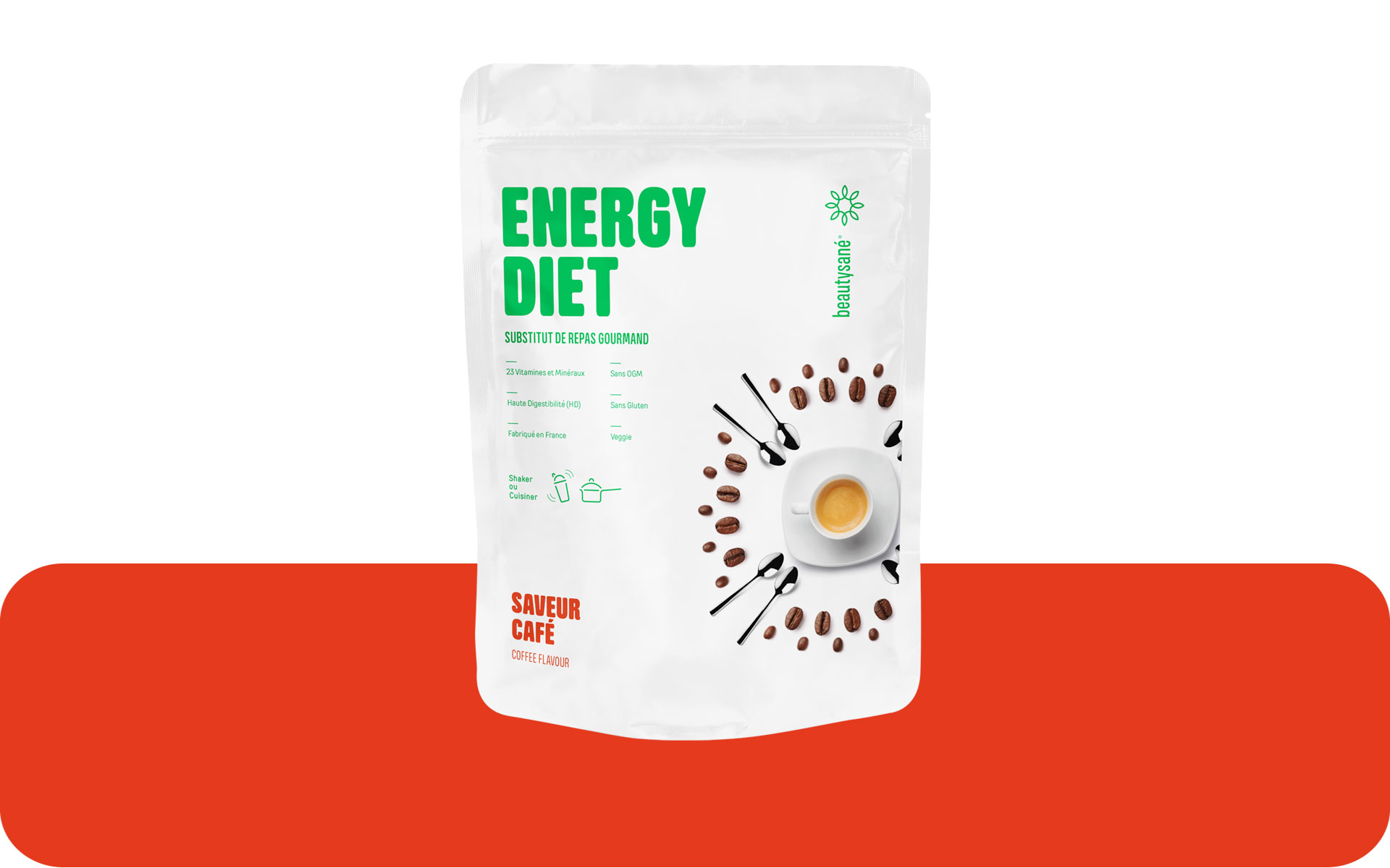 Energy Diet sabor café