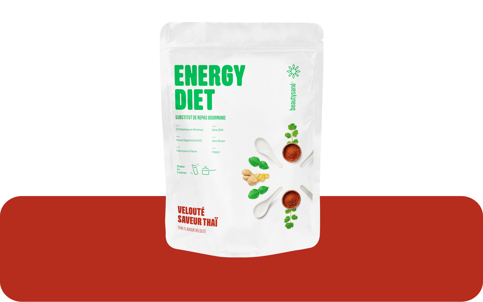 Energy Diet sabor thai