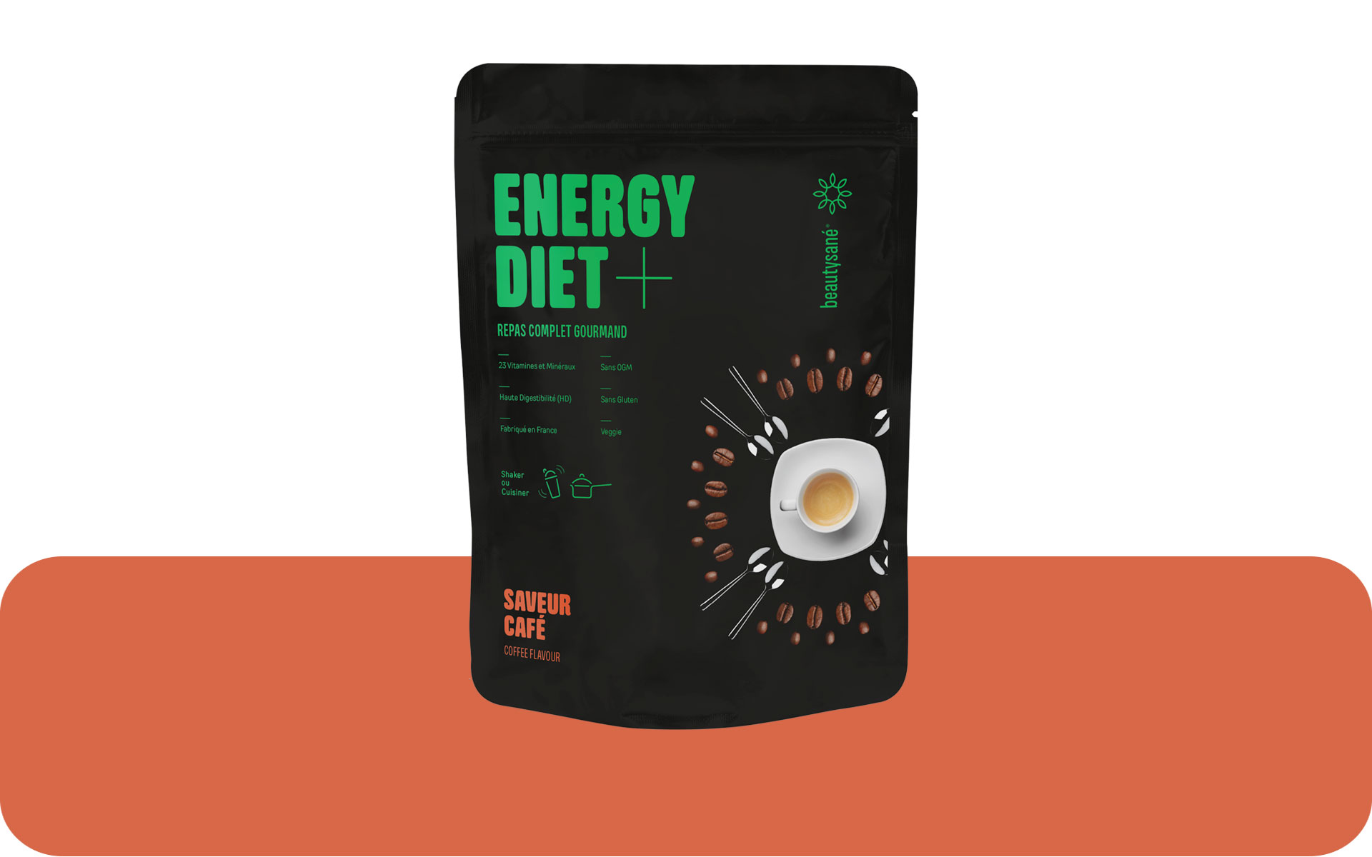 Energy Diet Plus sabor café