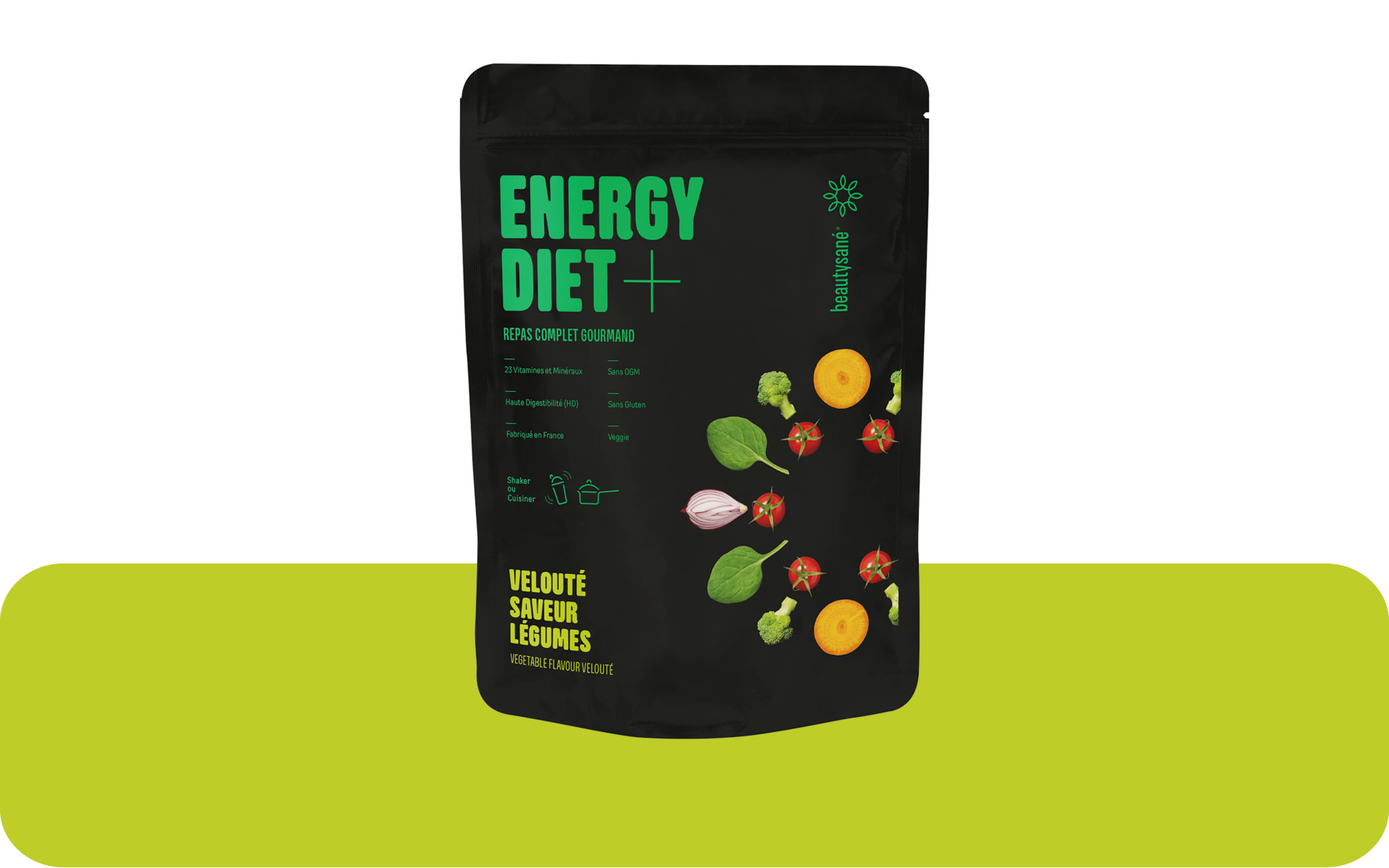 Energy Diet Plus sabor legumbres