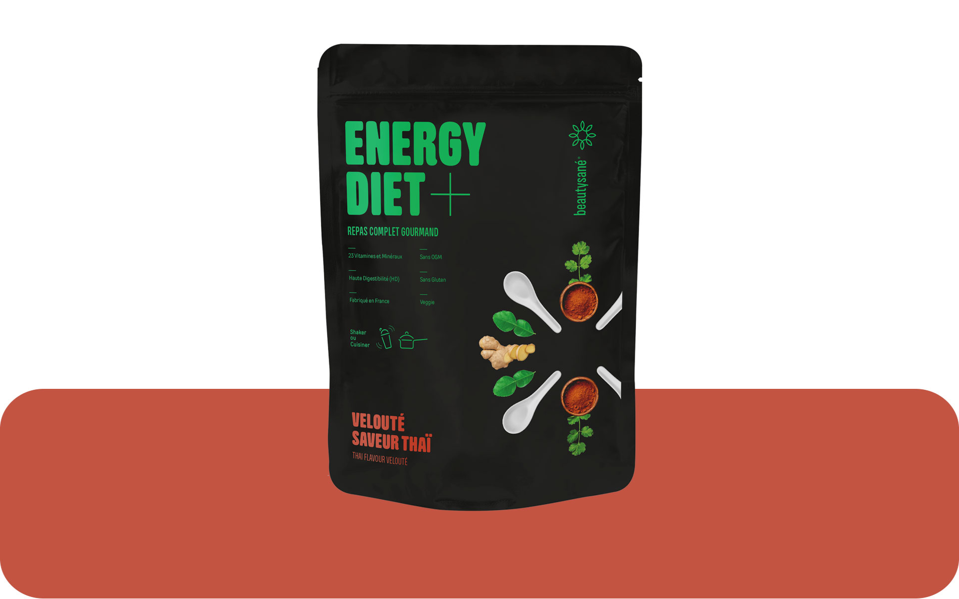Energy Diet Plus sabor thai