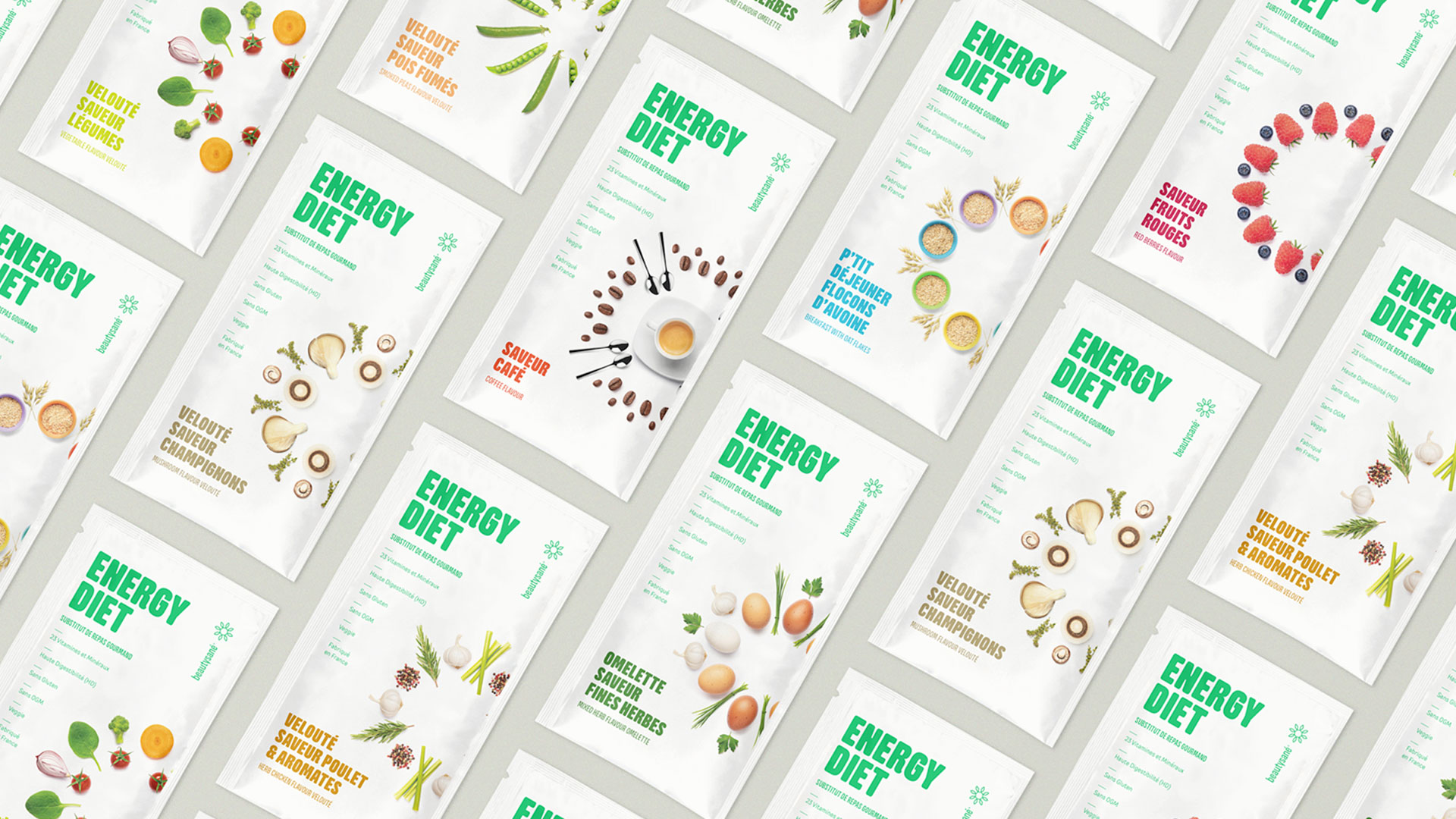 Beautysané packaging beverage doypacks